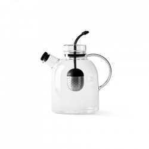 Ceainic transparent din sticla si inox 1,5 L Kettle Menu