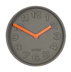Ceas ciment Concrete Time Orange Zuiver