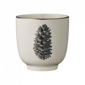 Ceasca alba din ceramica 180 ml Maria Bloomingville