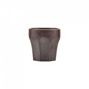 Ceasca maro din ceramica 6,2x6,3 cm Berica House Doctor