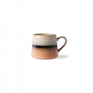 Ceasca multicolora din ceramica 500 ml Tea Tornado HK Living