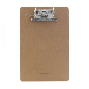 Clipboard maro din MDF si fier A4 Monograph