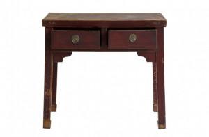 Consola din lemn cu sertare 95x95 cm Beijing Versmissen
