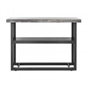 Consola gri/neagra din beton si fier Richardson Cozy Living Copenhagen