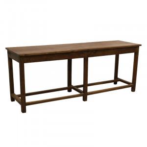 Consola maro din lemn 182 cm Bratta Raw Materials