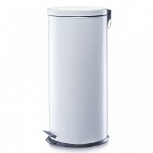 Cos de gunoi alb din metal 30 L Home Pedal Bin Maxi Zeller