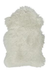Covor alb din fibre acrilice si poliester Softa Lalee (diverse dimensiuni)