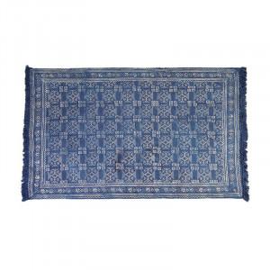 Covor albastru din bumbac 160x230 cm Alfombra Giner y Colomer