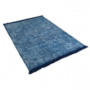 Covor albastru din bumbac 160x230 cm Evas Giner y Colomer