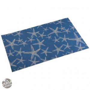 Covor albastru din poliester pentru bucatarie 50x80 cm Bue Sea Mat Mini Versa Home