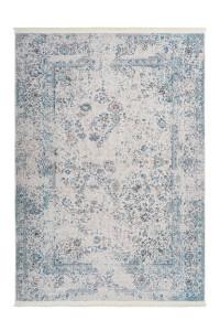 Covor albastru din poliester Peri Soft Lalee (diverse dimensiuni)