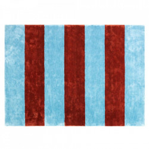 Covor albastru/rosu din matase 200x280 cm Pavilion Normann Copenhagen