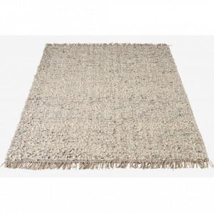 Covor argintiu din lana 240x170 cm Dab Bolia