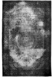 Covor din lana 280x180 cm negru HK Living