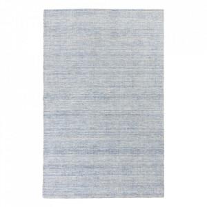 Covor din lana si viscoza Oat Blue Ligne Pure (diverse dimensiuni)