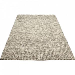 Covor gri din lana 200x300 cm Loop Bolia