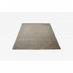 Covor gri din lana 240x170 cm Simbolo Grey Bolia