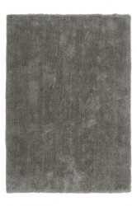 Covor gri platinat din poliester Velvet Lalee (diverse dimensiuni)