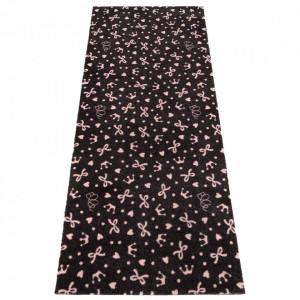 Covor gri/roz din poliamide 67x170 cm Viva Joli Elle Decor