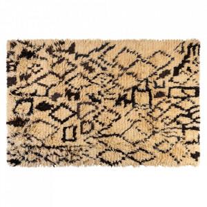 Covor maro din lana 200x300 cm Tulu Geo Versmissen