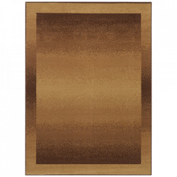 Covor maro din polipropilena Retro Light Brown Pattern The Home (diverse dimensiuni)