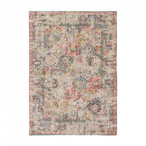 Covor multicolor din bumbac Antiquarian Janiserry Multi Louis de Poortere (diverse dimensiuni)