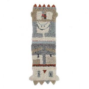 Covor multicolor din lana 90x240 cm Kachina Lorena Canals