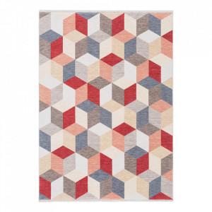 Covor multicolor din lana Cube Ligne Pure (diverse dimensiuni)
