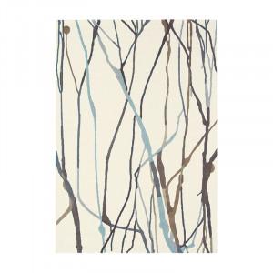 Covor multicolor din lana si viscoza Estella Drip Brink & Campman (diverse dimensiuni)