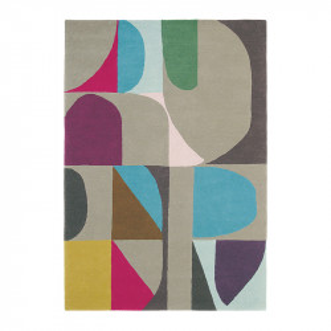 Covor multicolor din lana si viscoza Estella Harmony Brink & Campman (diverse dimensiuni)