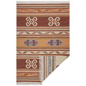 Covor reversibil multicolor din bumbac Switch Tansa Hanse Home (diverse dimensiuni)