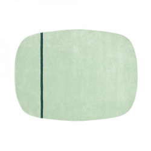 Covor verde menta din lana 175x240 cm Oona Normann Copenhagen