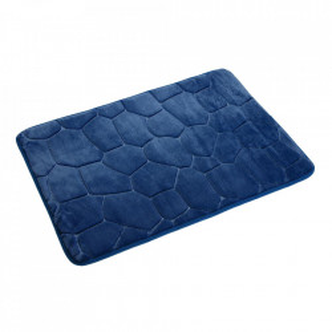 Covoras pentru baie albastru din poliester 40x60 cm Gualdo Versa Home