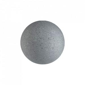Cuier gri din ciment Lapis Small Bolia