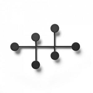 Cuier negru din zinc Afteroom Large Menu
