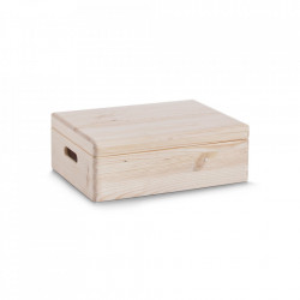 Cutie cu capac maro din lemn All Purpose Boxes Big Zeller