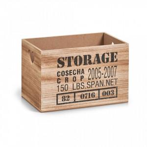 Cutie maro din MDF Storage Zeller