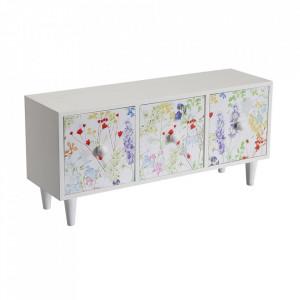 Cutie pentru bijuterii multicolora din lemn Blume Fleur Versa Home