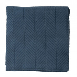 Cuvertura albastra din poliester 220x260 cm Pritchard Bloomingville