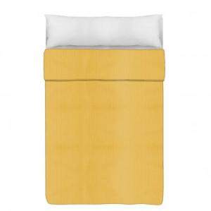 Cuvertura galbena din poliester 180x260 cm Trendy Harris Unimasa
