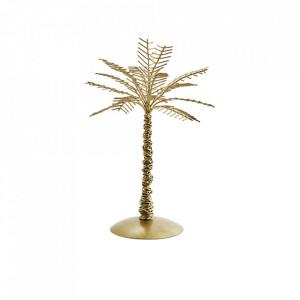 Decoratiune aurie din fier 22 cm Palm Madam Stoltz