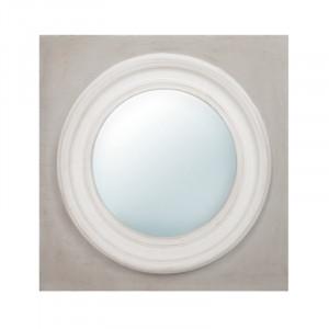Decoratiune cu oglinda din lemn pentru perete 60x60 cm Irin LifeStyle Home Collection