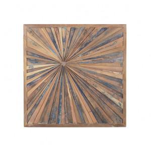 Decoratiune de perete maro din lemn 93x93 cm Nature Giner y Colomer