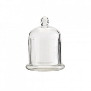 Decoratiune din sticla transparenta 9 cm Cover Madam Stoltz