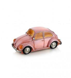 Decoratiune luminoasa LED roz din rasina Nostalgi Bug Markslojd