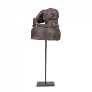 Decoratiune maro din lemn 43 cm Hat From Enggano Versmissen