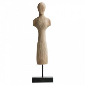Decoratiune maro din MDF si lemn 45,5 cm Fez Woood