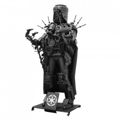 Decoratiune neagra din metal 48 cm Darth Vader Versmissen