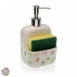 Dispenser multicolor din ceramica 10,5x17,8 cm Parana Sponge Versa Home