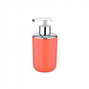 Dispenser rosu corai/argintiu din elastomer termoplastic 320 ml Nabu Wenko